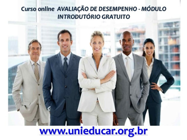 Curso online avaliacao de desempenho modulo introdutorio gratuito