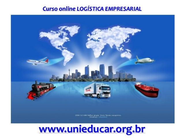 Curso online logística empresarial