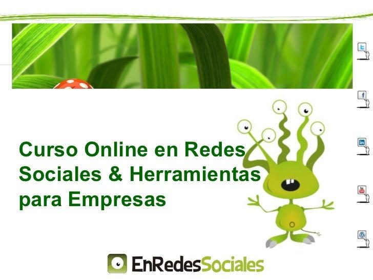 Curso Online Redes Sociales & Herramientas Para Empresas (1)