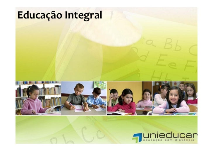 EducaçãoIntegral