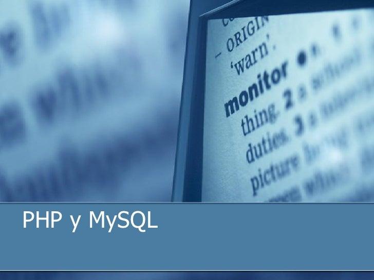 Curso php y_mysql