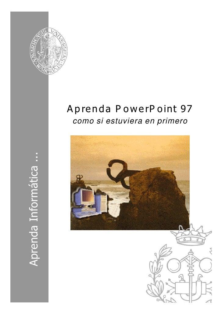 Curso power point 97