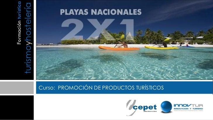 Curso promoción del producto turistico