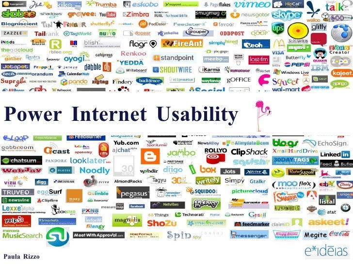 Power Internet Usability Paula Rizzo