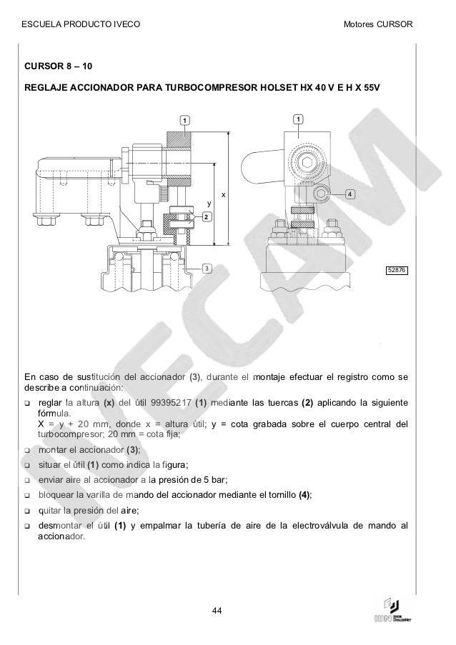 manual de motor iveco cursor