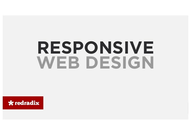 Curso responsive web design  - Redradix School