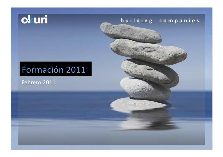 Catalogo Formación Okuri 2011
