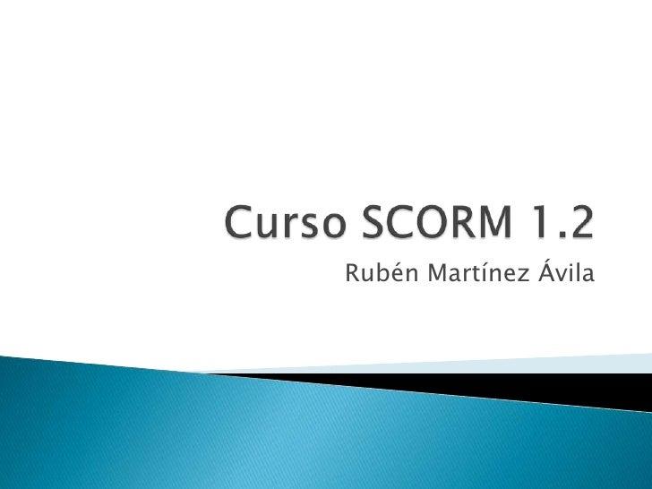 Curso de SCORM 1.2