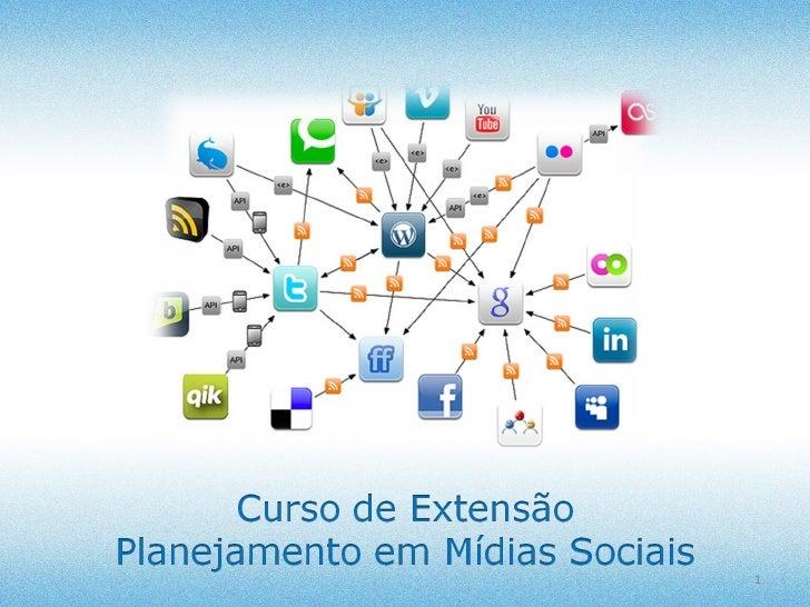 Planejamento em Mídias Sociais MARÇO / 2012