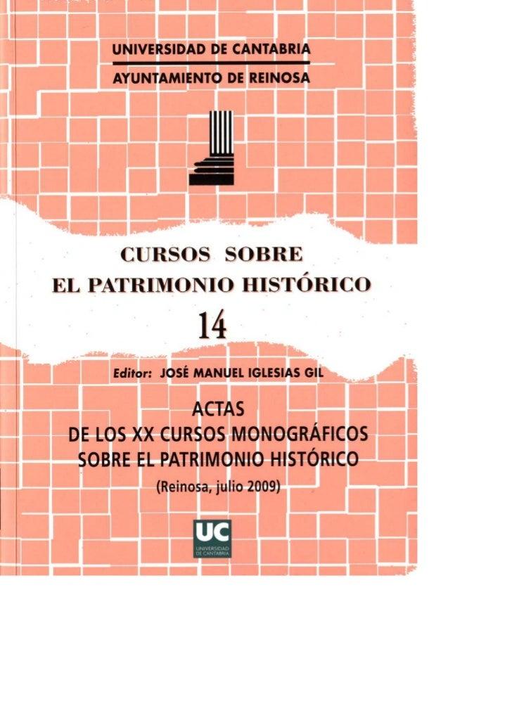 Cursos sobre patrimonio historico 14