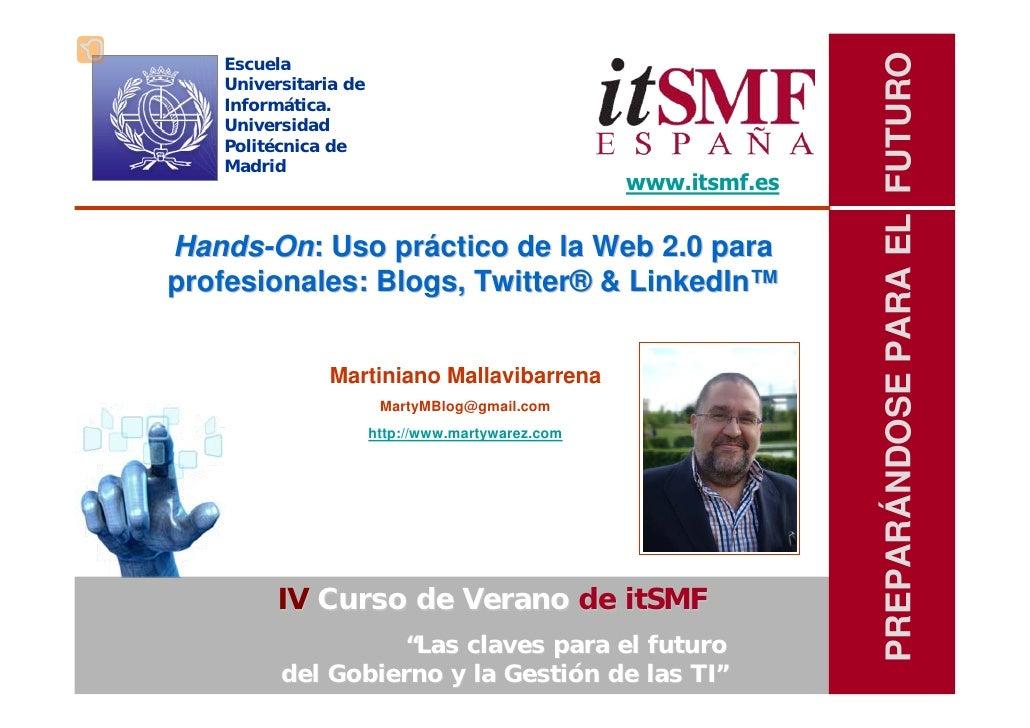 PREPARÁNDOSE PARA EL FUTURO    Escuela    Universitaria de    Informática.    Universidad    Politécnica de    Madrid     ...