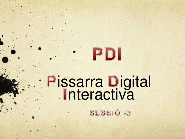issarra igital nteractiva