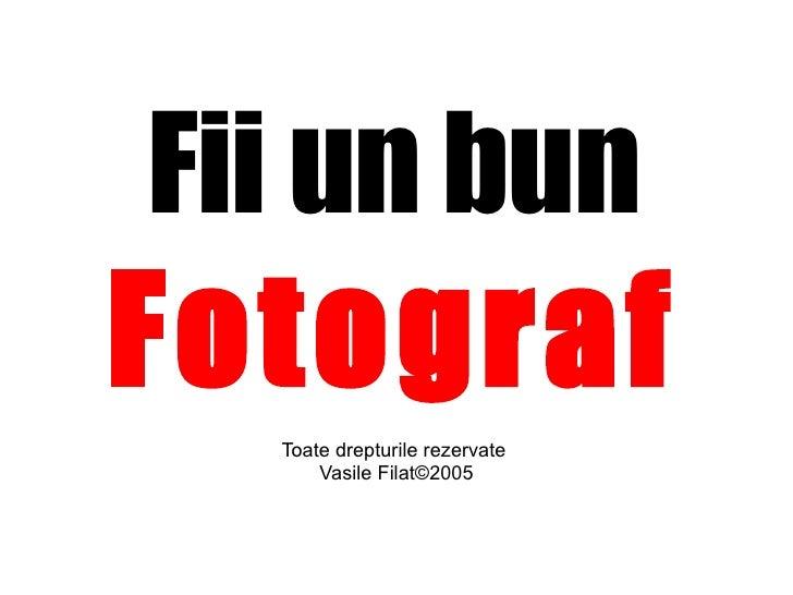 Cursul  Photography