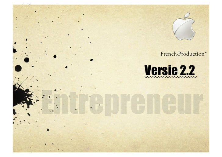 French-Production*   Versie 2.2