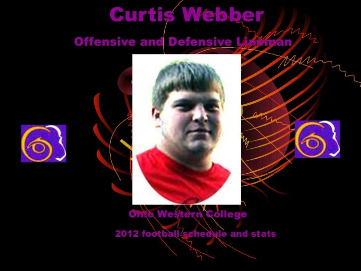 Curtis WebberOffensive and Defensive Lineman       Ohio Western College     2012 football schedule and stats