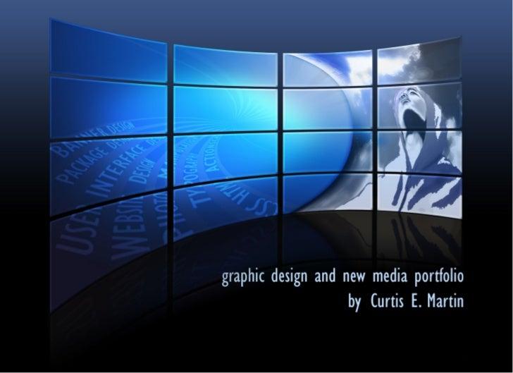 Curtis Martin's Design Portfolio