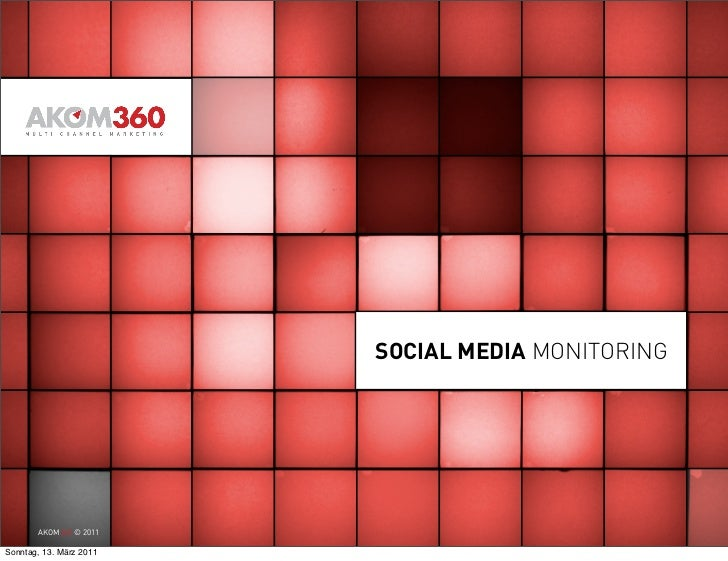 Curt Simon Harlinghausen Social Media Monitoring, Tracking and KPIs – powered by AKOM360