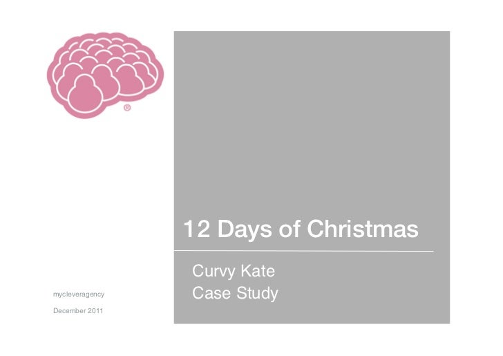 Case Study - Curvy Kate 12 Days of Christmas
