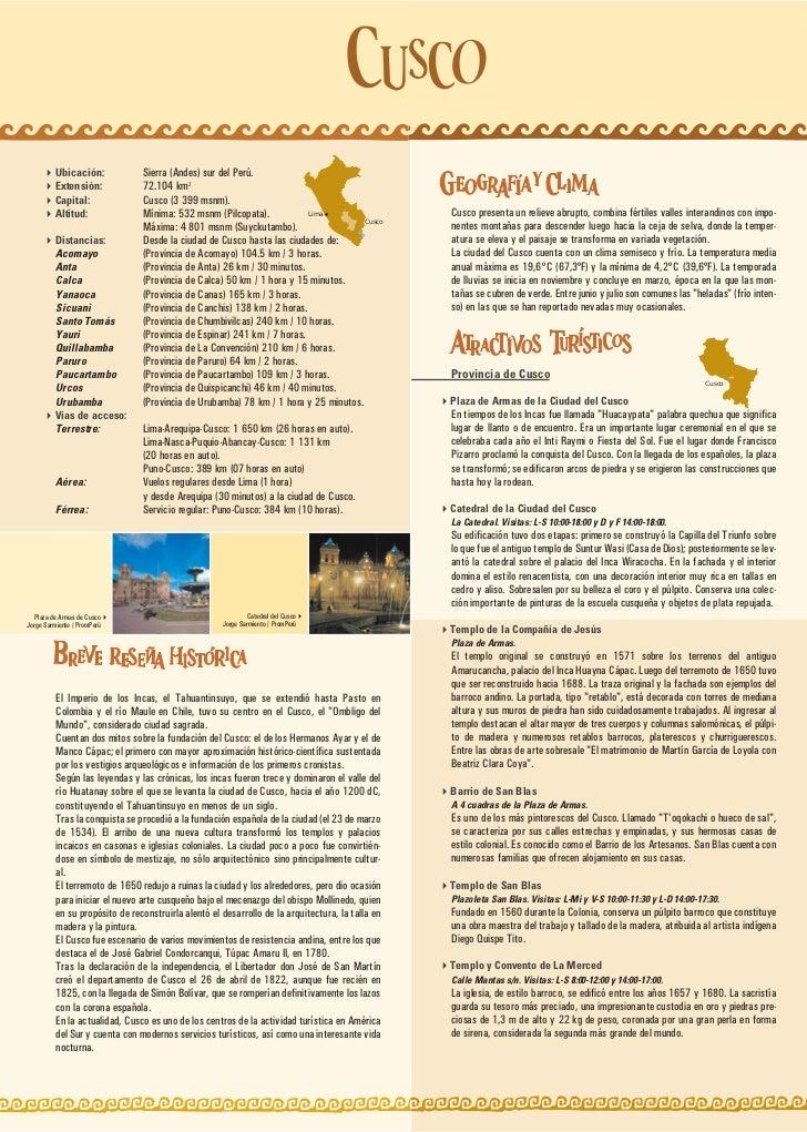 Ubicación:             Sierra (Andes) sur del Perú.         Extensión:             72.104 km2         Capital:            ...