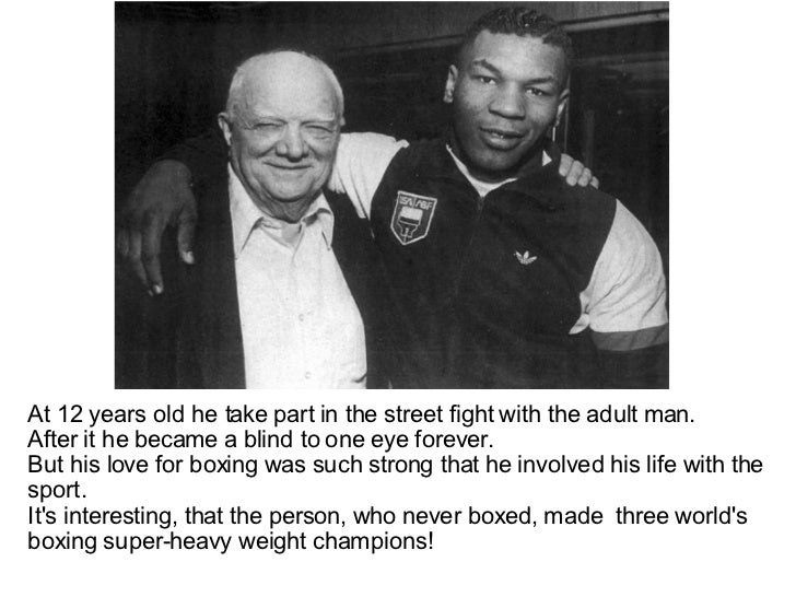 mike tyson and cus damato relationship problems