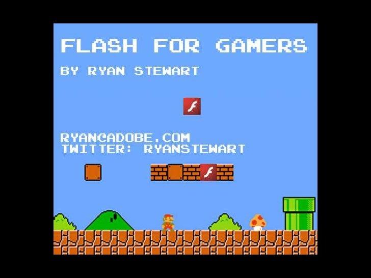 Flash Gaming Summit - Ryan Stewart on The Future of Flash