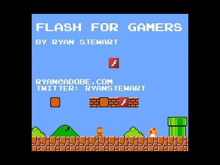 Flash Gaming Summit - Ryan Stewart on The Future of Flash
