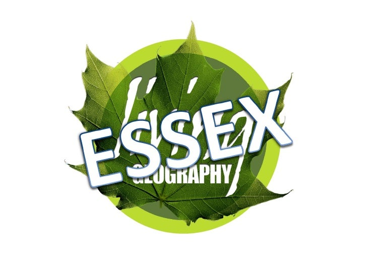 Essex Living Geography