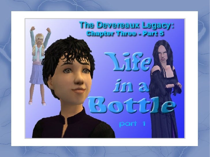 The Devereaux Legacy: Chapter Three - Part 5