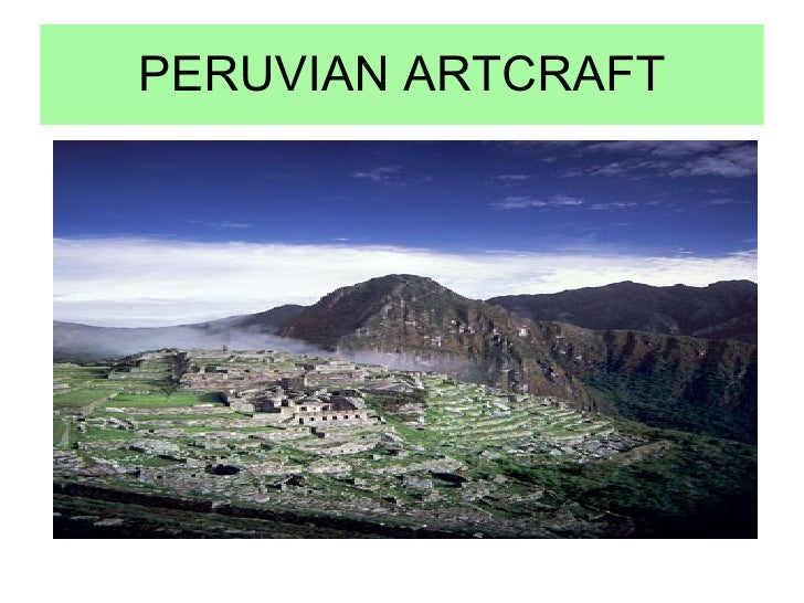 PERUVIAN ARTCRAFT