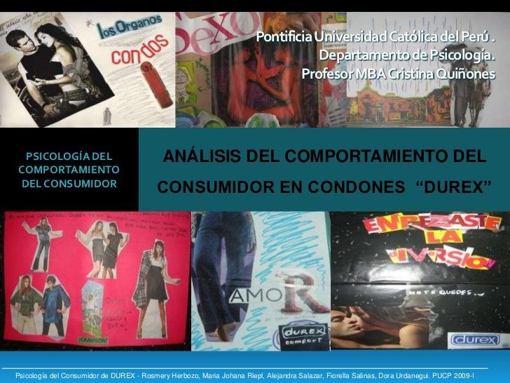 Pontificia Universidad Católica del Perú . Departamento de Psicología.Profesor MBA Cristina Quiñones<br />