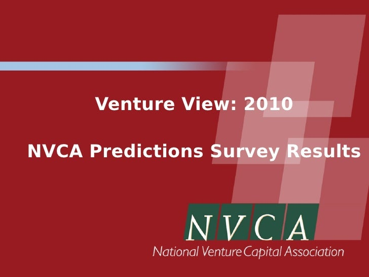 Venture View: 2010  NVCA Predictions Survey Results