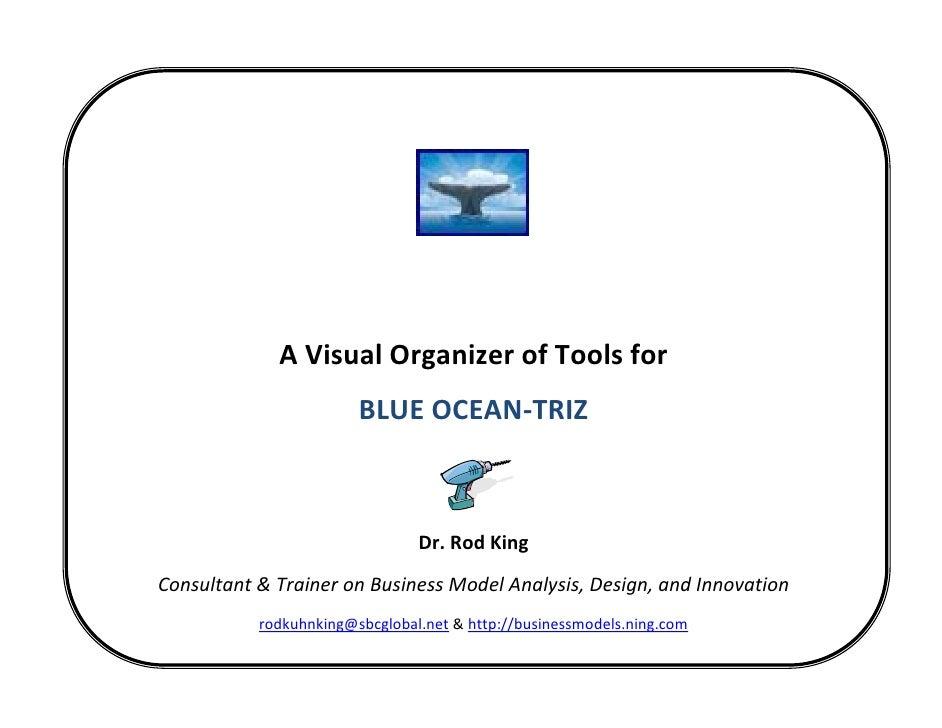 A Visual Organizer of Tools for Blue Ocean-TRIZ