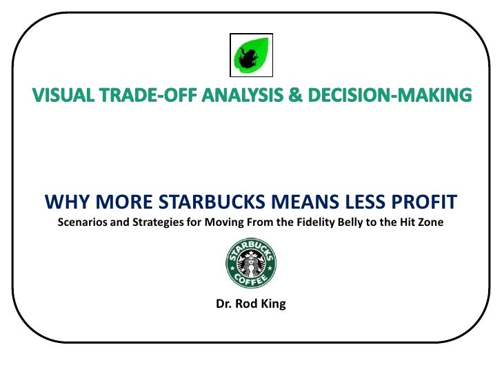 Inexpensively Leapfrogging the Competition<br />WHY MORE STARBUCKS MEANS LESS PROFITScenarios and Strategies for Moving Fr...