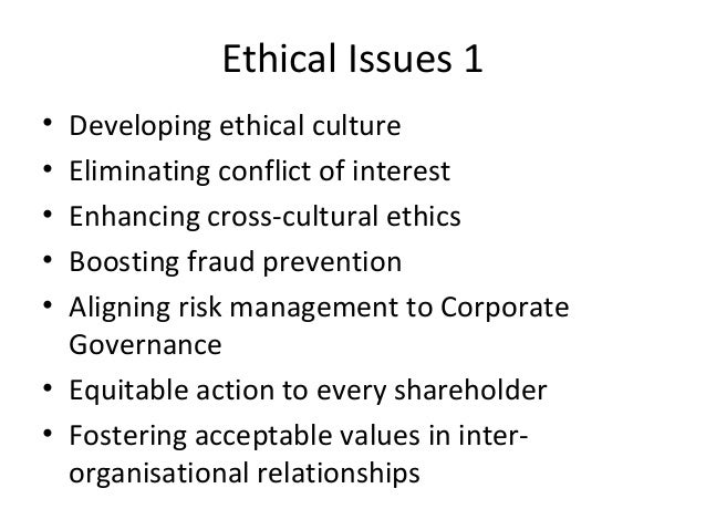 Ethical Issues and Challenges