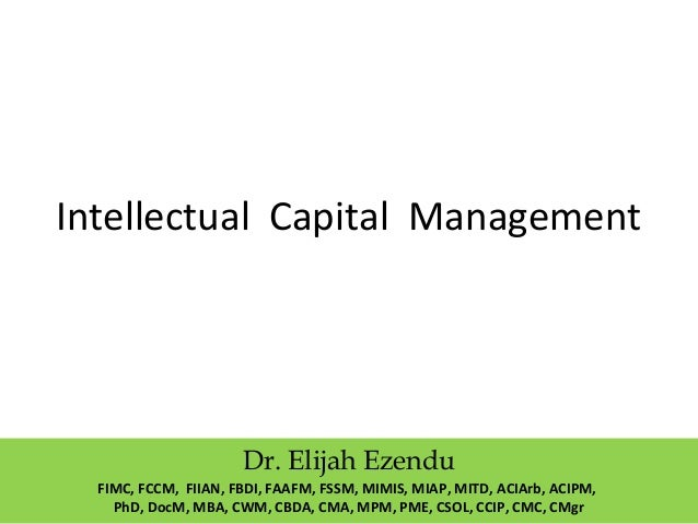 intellectual capital Intellectual capital statement – made in germany drawing up an ics – an  intellectual capital statement, or wissensbilanz in german – enables companies  from.