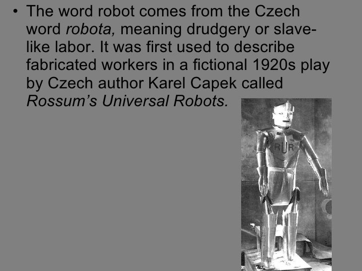Whats a word to describe how a machine/robot moves?