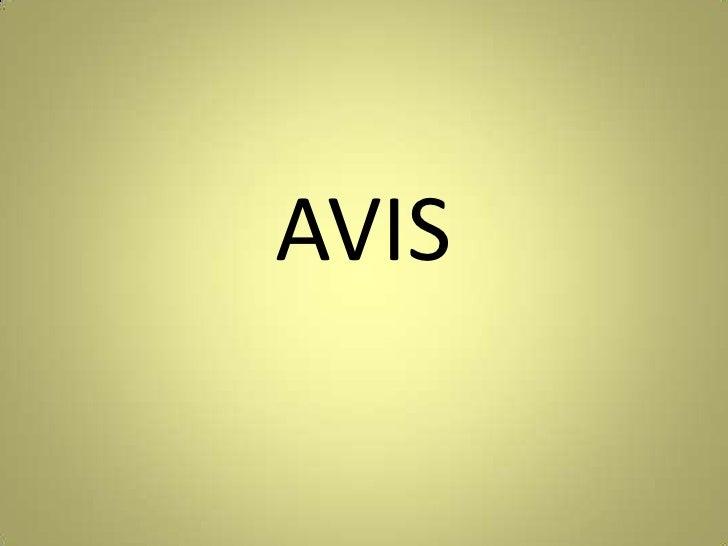 AVIS<br />
