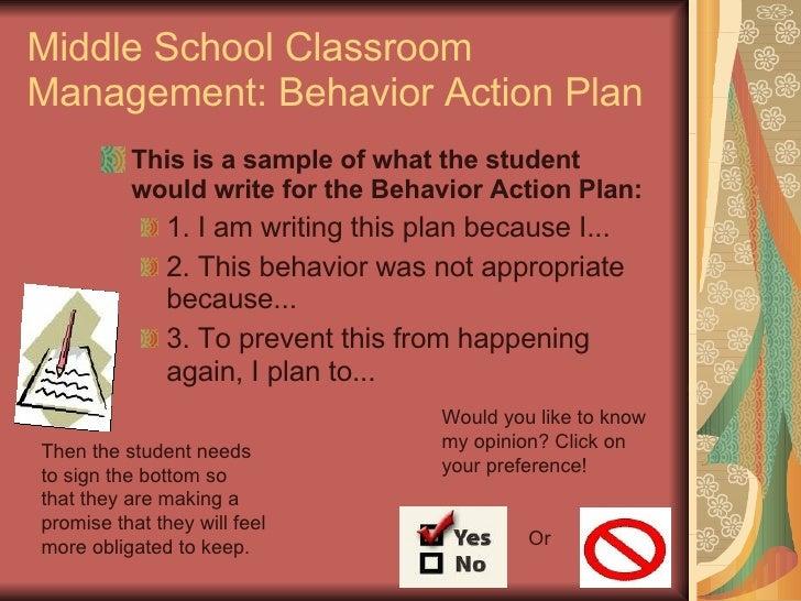 classroom management plan 2 essay