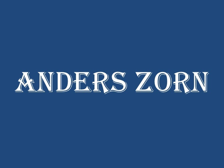 Anders Zorn