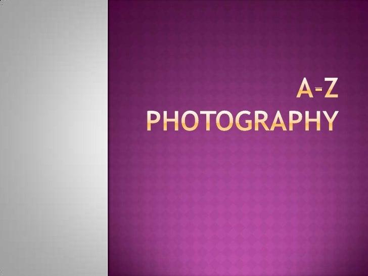 A-Z Photography<br />