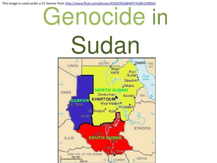 Genocide in Sudan