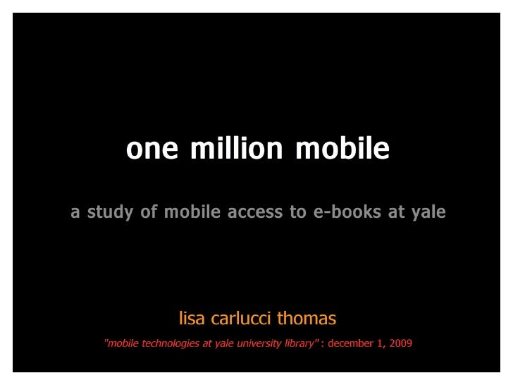 One Million Mobile