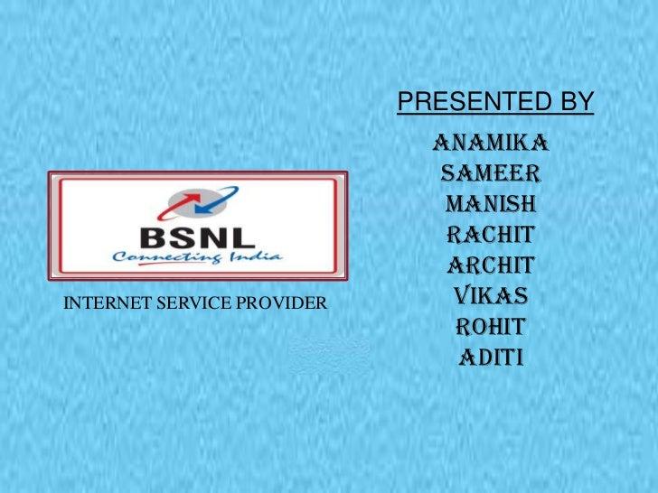 BSNL _ISP