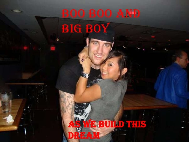 Boo Boo and Big Boy<br />As we build this dream together…<br />