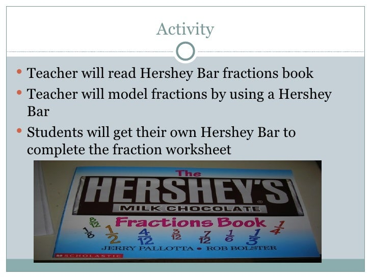math worksheet : examples of applied psychology : Hershey Bar Fraction Worksheet