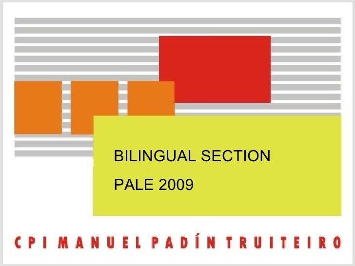 bilingual sections