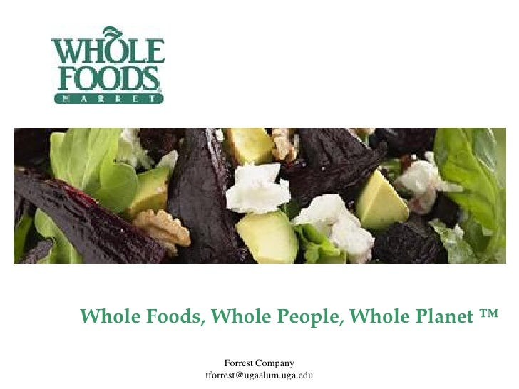 whole foods market powerpoint Whole foods market is a dynamic leader in the quality food business we are a purpose-driven company that aims to set the standards of excellence for food retailers we are building a business in which high standards permeate all aspects of our company.