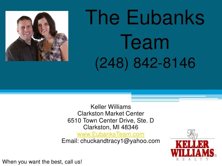 The Eubanks Team - Keller Williams Clarkston Market Center
