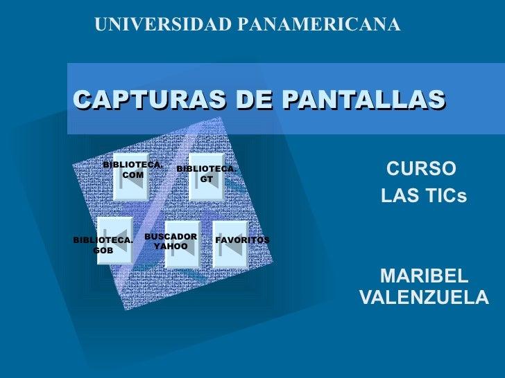 CAPTURAS DE PANTALLAS CURSO  LAS TICs MARIBEL VALENZUELA   BIBLIOTECA.COM BIBLIOTECA.GT BIBLIOTECA.GOB BUSCADOR YAHOO FAVO...