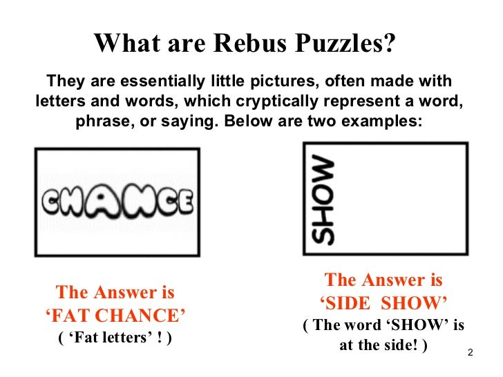 Rebus Puzzles With Answers Printable 15 rebus puzzles to sharpen the ...